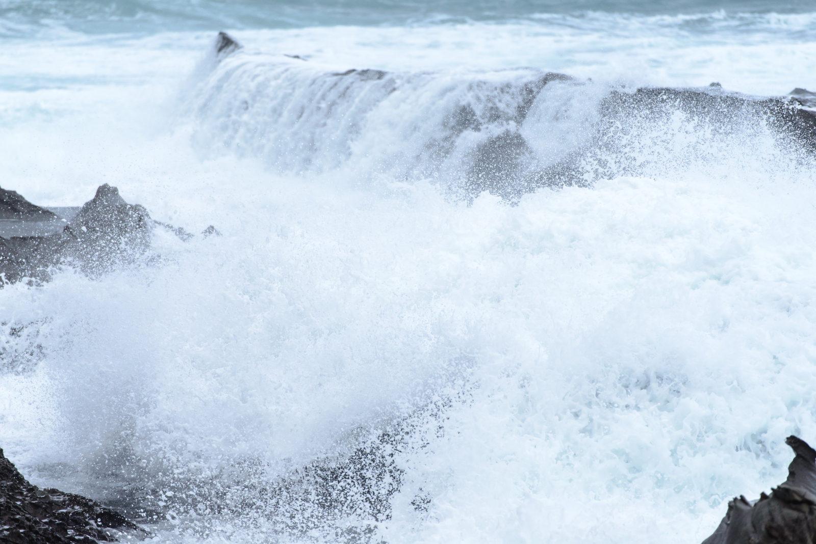 Rough sea